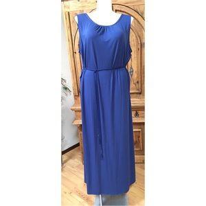 Ava & Viv   Blue Goddess Maxi Dress Women's 3x